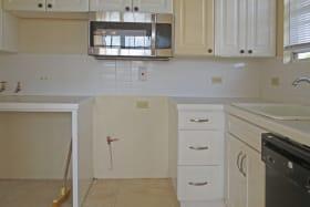 Upstairs - kitchen