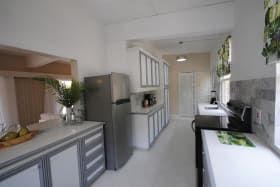 Well equipped kitchen with all new appliances