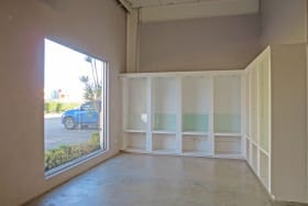 Large windows for display