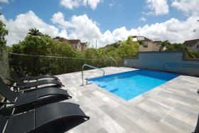 Communal pool and deck