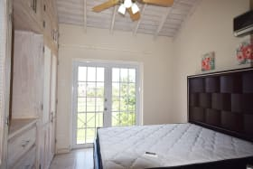Master Bedroom with Juliet Balcony