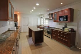 Large air conditioned kitchen