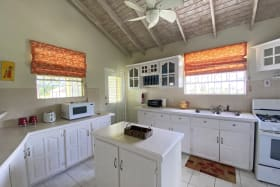 Spacious Kitchen with an Island