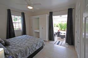 Main bedroom opens to veranda