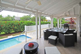 Veranda and plunge pool