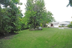 Well landscaped gardens