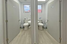 Shared washrooms