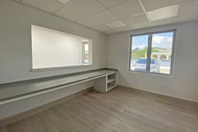 Reception area available for rental