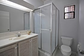 Bathroom by 4th bedroom or office