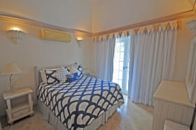 One of the two ensuite bedrooms in cottage