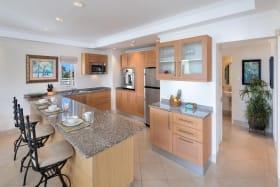 Large, modern kitchen