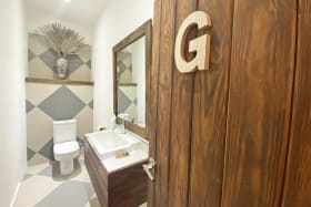 Bathroom of The Bistro
