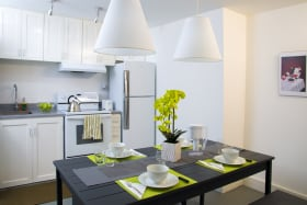 Typical Dining Area (this is of unit #6)