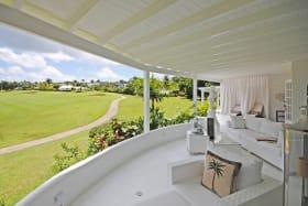 Views from covered verandah