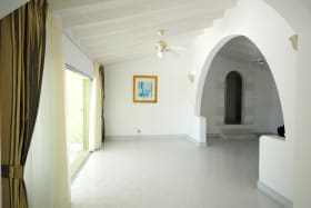 Room leading to the patio