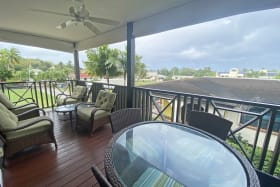 Patio terrace outlook