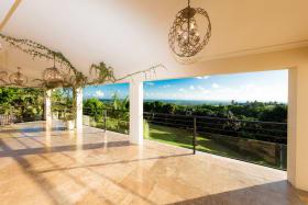 Living room and verandah