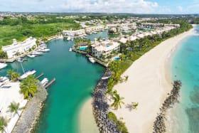 Aerial views of Port St. Charles