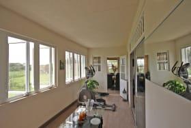 Indoor Patio area