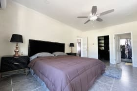 Master Bedroom with Walkin Closet and Ensuite