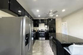 Kitchen with Stainless Steel Appliancs