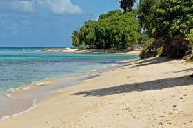 Beach in front of Villa Blu
