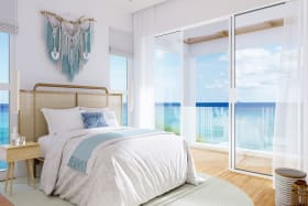 CGI of view from bedroom