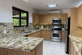 Spacious and fully functional kitchen