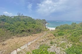 Stunning views of Foul Bay with steps from the house to the beach