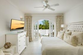 Bedroom opens to terrace