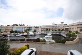 View from bedroom 2 and location of boat berth for 239
