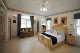 Bedroom in attached cottage