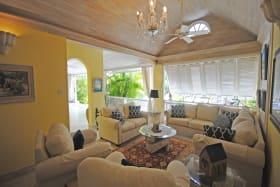 Sitting room on veranda