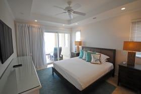 Main bedroom opens to terrace