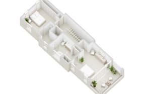 Courtyard Villa - first floor