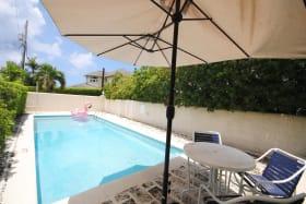 Inviting swimming pool at Fairway Villas