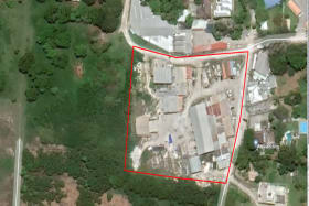 Outline of Lot 25 Factory Yard