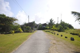 Driveway leading to Vaucluse Plantation and Factory Yard