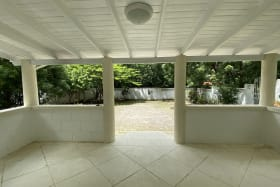 Front patio
