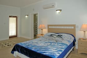 Bedroom With A/C & Fan