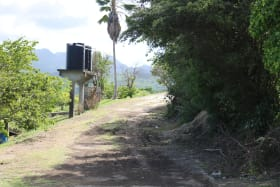 Access Road to lot