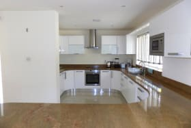 Kitchen, includes dishwasher and electric stove
