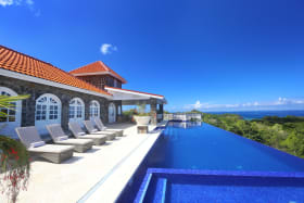 Back Patio & Infinity Pool