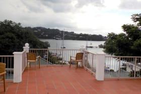 View looking west over Ganter's Bay