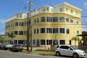 Rodney Bay Commercial Building - First Floor