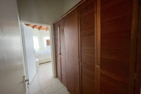 Entry to Master Bedroom - closet space to the right