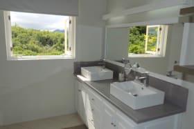 Modern updated Master Bathroom