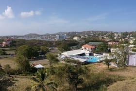 View towards the Rodney Bay Marina