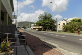 Road to Castries - 5-10 minutes walk to Castries