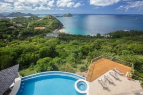 View overlooking the Caribbean Sea